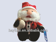 Stuffed toy xmas santa claus