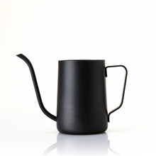350ml Stainless Steel Gooseneck Pour Over Drip Coffee Maker Pot, Tea Coffee Cup Pot