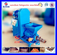 Sawdust Log Rice Hull Charcoal Briquettes Making Press Machine For Sale