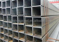 carbon steel ERW welded square/rectangular pipe prices