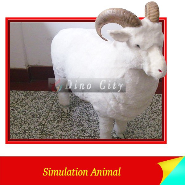 Life Size Mechanical Simulation Animal Sheep Sculpture