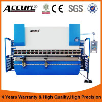 WC67K CE certificate hydraulic bending machine for making door frames
