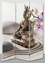Buddha Screen Printed Canvas Painting,malaysia room divider