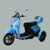 wholesale adult drive powerful 48v 60v 72v 500w 800w gear motor three wheel electric scooter motorcycle