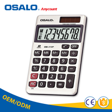 OSALO calculator solar mini pocket calculator metal calculator