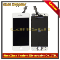 Spare cell phone wholesale Original display lcd for Apple iPhone 5s lcd screen replacement with digitizer assembly