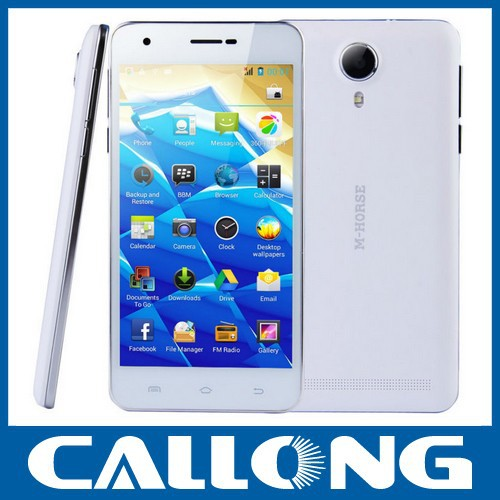 Cheapest 5.0 inch M-horse S72 MTK6572 dual core Dual Sim China mobile Android 3G smartphone
