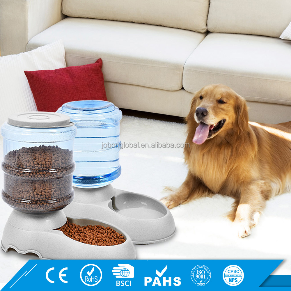 Feeder and Waterer Set 3.5L For Cat Dog Auto Pet Water Feeder and Automatic Pet Food Dispenser