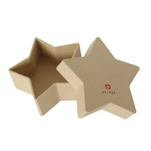 Star Shaped Kraft paper gift boxes innovative packing box
