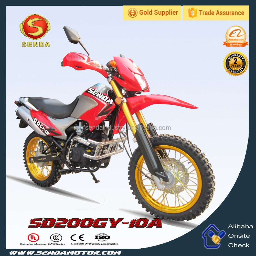 Best Selling 200CC Off Road Motorbike Made in Chongqing Manufacture SD200GY-10A