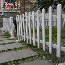 Ornamental portable swimming pool white pvc perimeter fence removable garden house farm guardrail picket fence