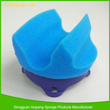 Customized shaped long handle foot lotion foam sponge applicators