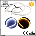 Dual Color White/Amber Car Switchback LED Tube Strip Light Headlight DRL Daytime Running Light