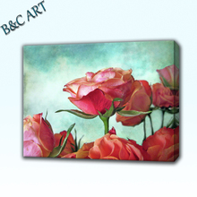 Customized Digital Photography Printing Natural Scenery Canvas Printing Art