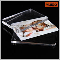 Wholesale multi size folding acrylic photo picture frame