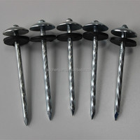 galvanized roofing nails with smooth shank with washer