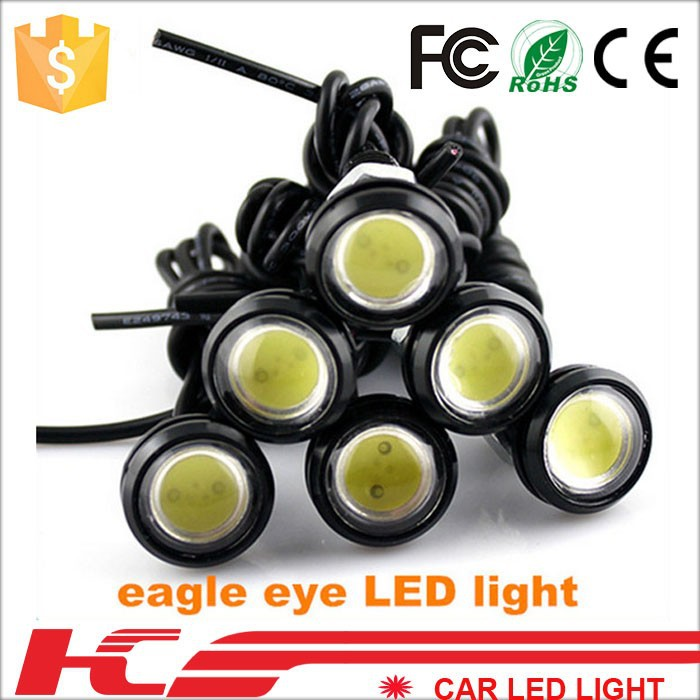 car parking lights eagle eye 1.8cm waterproof eagle eye led daytime running lights 6 colors