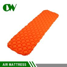 cheap shoes from china orange camping sea air mattress sleeping pool sleeping outdoor summer lightweight inflatable single bed