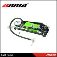 High pressure single electric air pump for cars