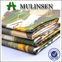 Mulinsen Textile High Quality Plain Woven 40s Poplin Combed Yarn 100% Pure Cotton Printed Fabric for Shirts and Pants