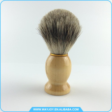 Custom logo best badger hair shaving brush under 50 for men