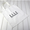 wholesale recycle cotton canvas tote bag for magazine