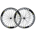 700c 23mm width carbon wheels road bicycle clincher wheels tubuless t800 carbon fiber road wheelset for sale