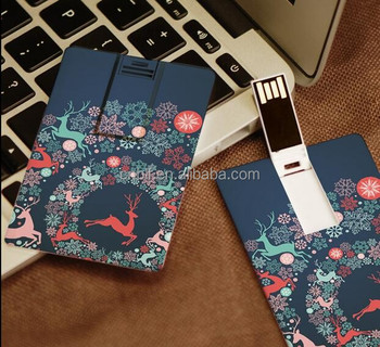 Good for business OEM logo design imprinting gift custom credit card usb flash