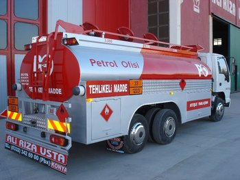 TRUCK MOUNTED FUEL TANKER