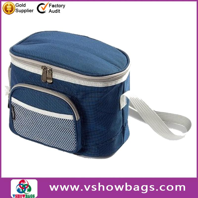 With sliding drawer insulated cooler compartment fashion stubby bottle cooler bag insulted wine cooler bag