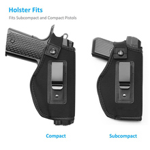 professional factory hot selling high quality concealed carry saistband gun holster
