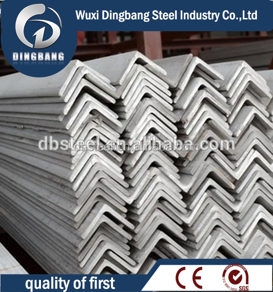 alibaba China 304/316L hot rolled stainless steel angle bar