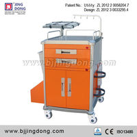 Hospital Emergency Medical Trolley with Security Seals