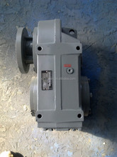 F series foot- mounted parallel shaft helical worm gearbox
