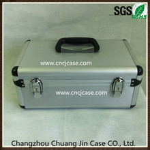 Resonable price professional easy carrying hard case portable grooming aluminum extrusion box
