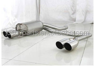 Steel Material E60 Back Exhaust Tips Rear Ehaust Muffler Fits for BMW E60 520I 525I 530I 03-09