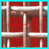 High quality 9 gauge steel wire single Crimped wire mesh fence big discount sell by big factory with ISO 9001 directly