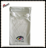 Promotion Ideal Washable Optical Microfiber Soft Pouches For Eyeglass