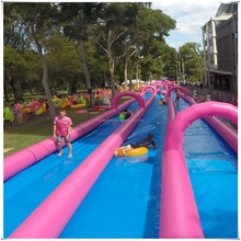 Guangzhou Professional Manufacturer Customized Long Slip N Slide City Slide Inflatable Water Slide For Adult