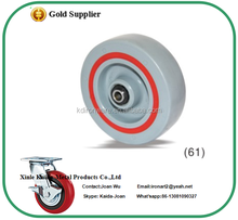 Roller Pin With Noise Absorbing PP Castor With TPE Damping Ring