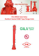 fm ul indicator post-underground type gate valve