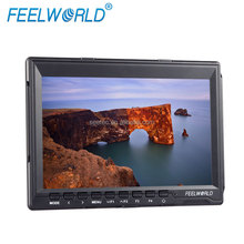 Professional On-camera Broadcast Field Super Slim 1280*800 IPS Screen 7'' 16:9 Monitor