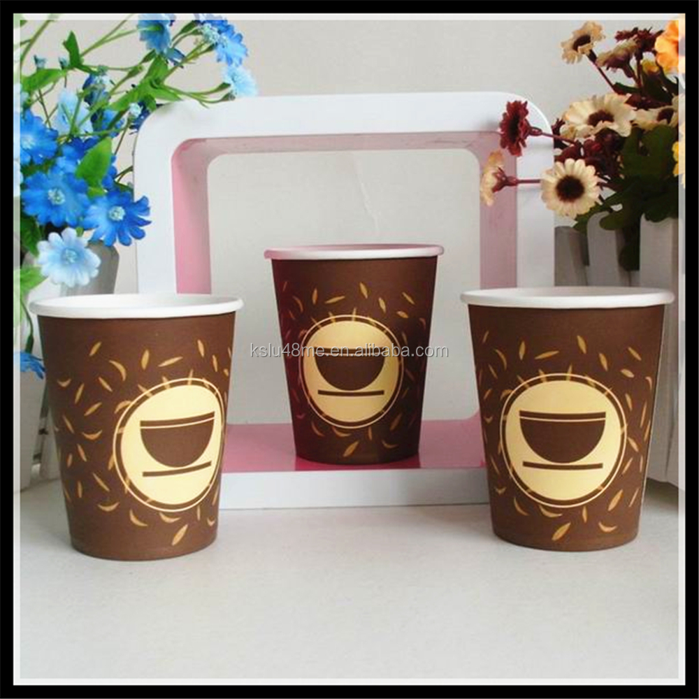 food grade paper + cup & mugs design Chinese papercup coffee company