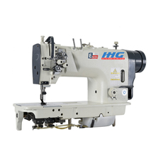 ChuangHui 8422 Good Performance Direct Drive Double Needle Small Hook Mirco Oil Lockstitch Industrial Sewing Machine