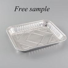 sushi box packaging plastic disposable compartment lunch box disposable aluminum foil lunch box