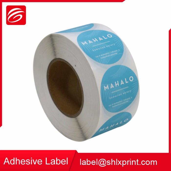 Custom Self Adhesive Roll Bottle Sticker Label Printing