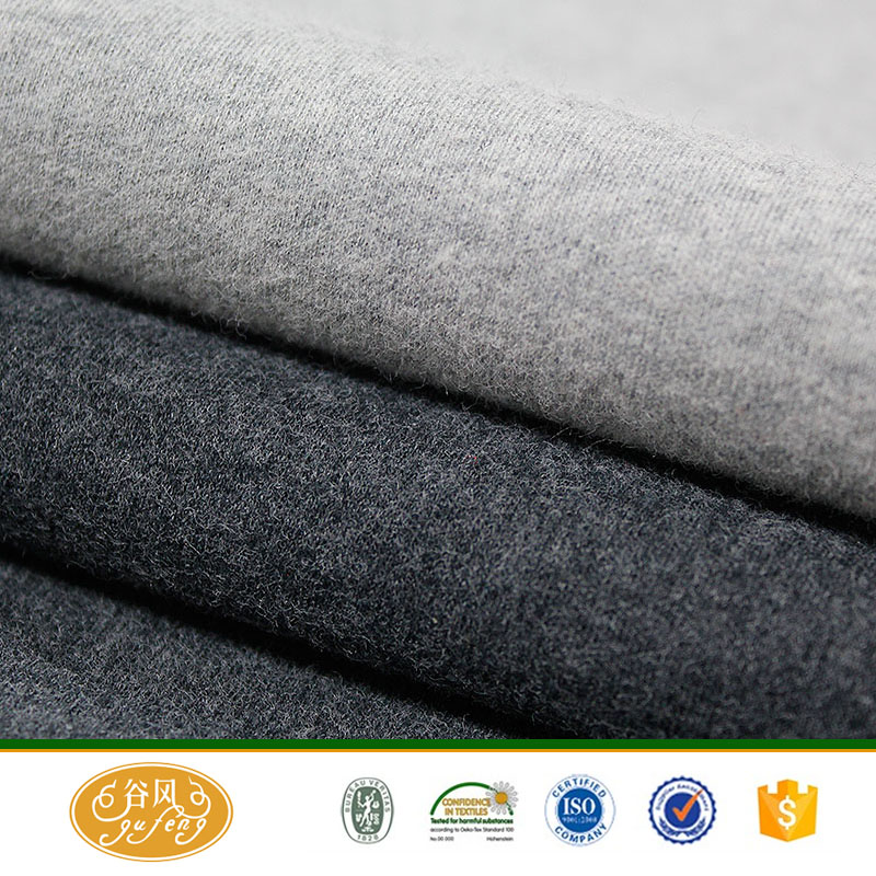 wholesale combed cotton spandex knitted fabric for thermal underwear fabric