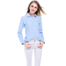 Brand New Women Blouses Shirts Cotton Long Sleeve Ladies White Casual Shirt Plus Size Blouses Female Clothing Tops
