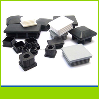 Plastic plug tube insert Plastic square pipe end protect cap