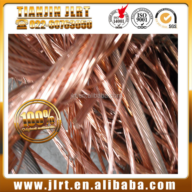 hot selling high purity 99.99% cheaper price bulk cable mill berry scrap copper wire